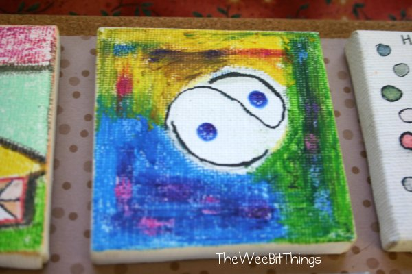 Small Abstract Art by TheWeeBitThings