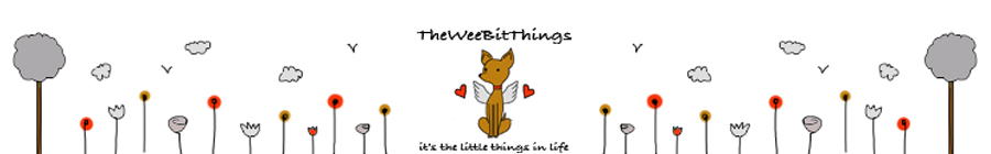 Image of the TheWeeBitThings Banner on Word Press