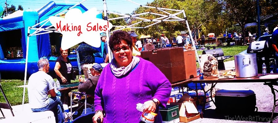 Brisbane Garage Sale Selling
