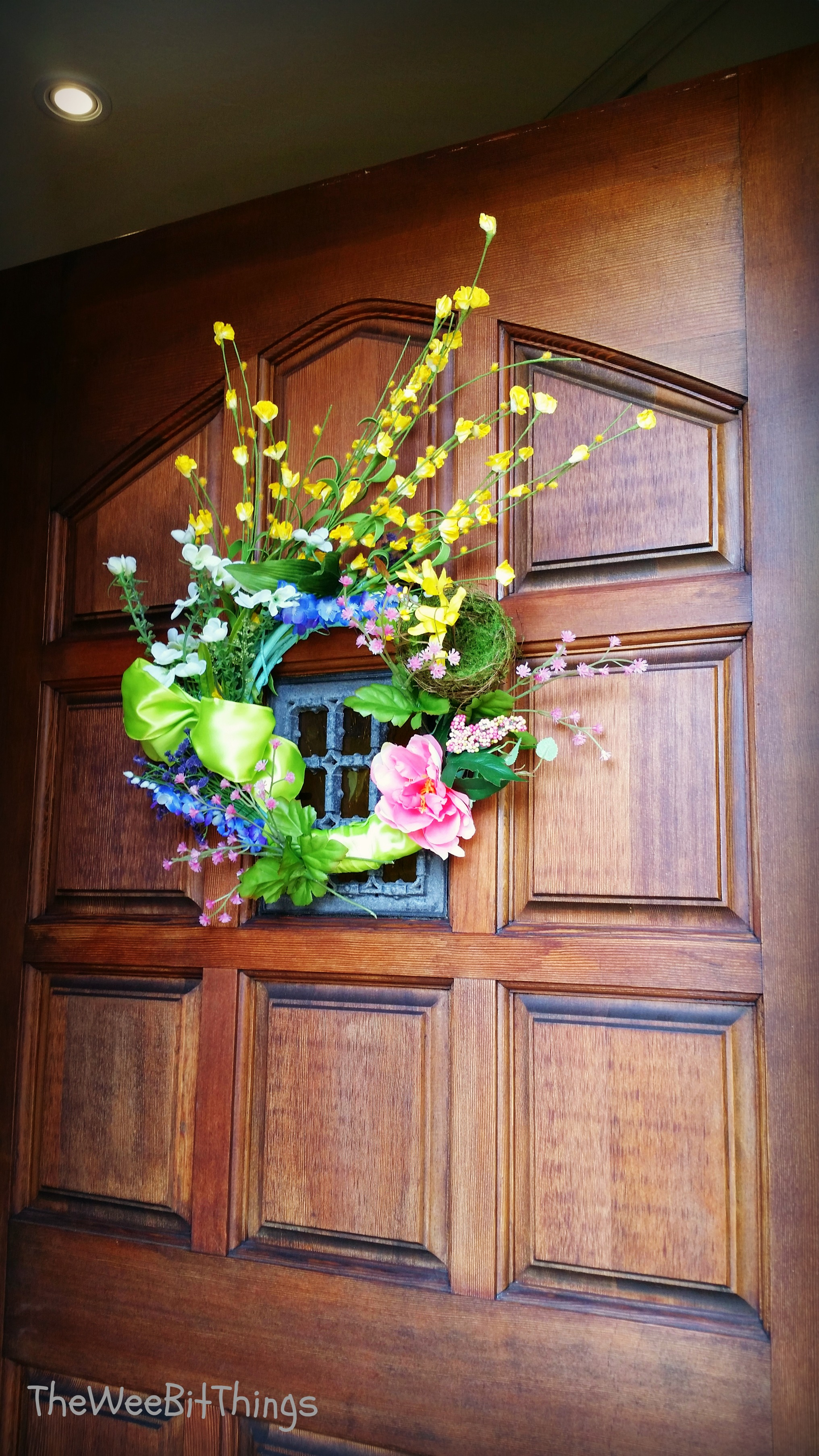 Door Spring Wreath