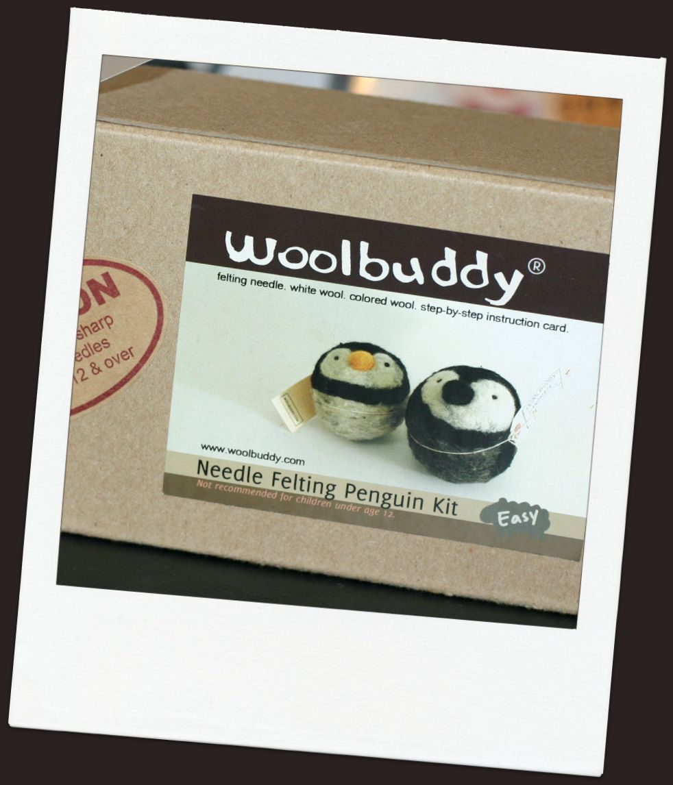 woolbuddy felt making kit