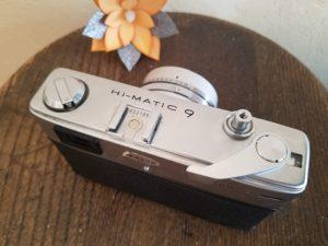 Minolta Hi-Matic 9 Rangefinder Camera