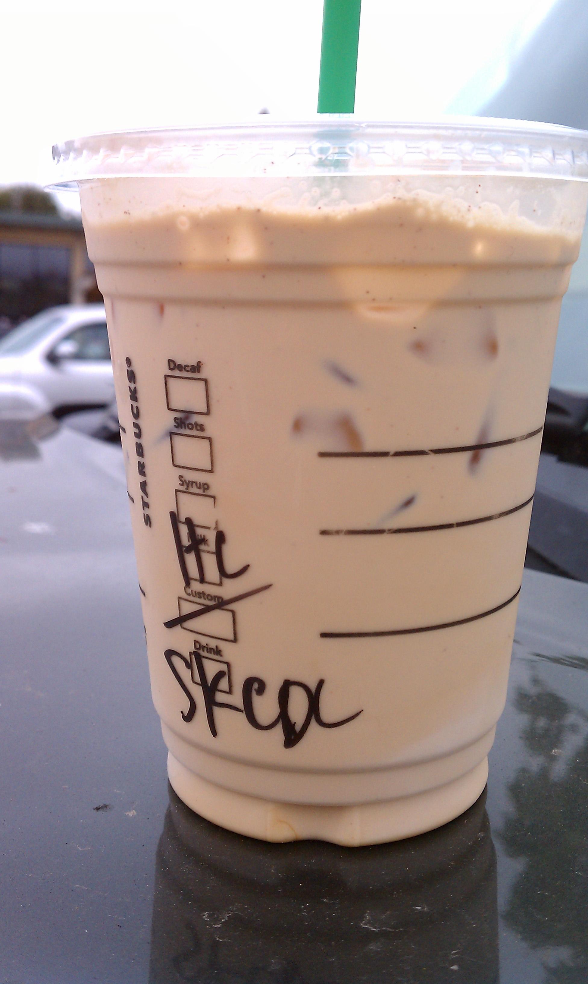 Image of Starbucks Iced Latte