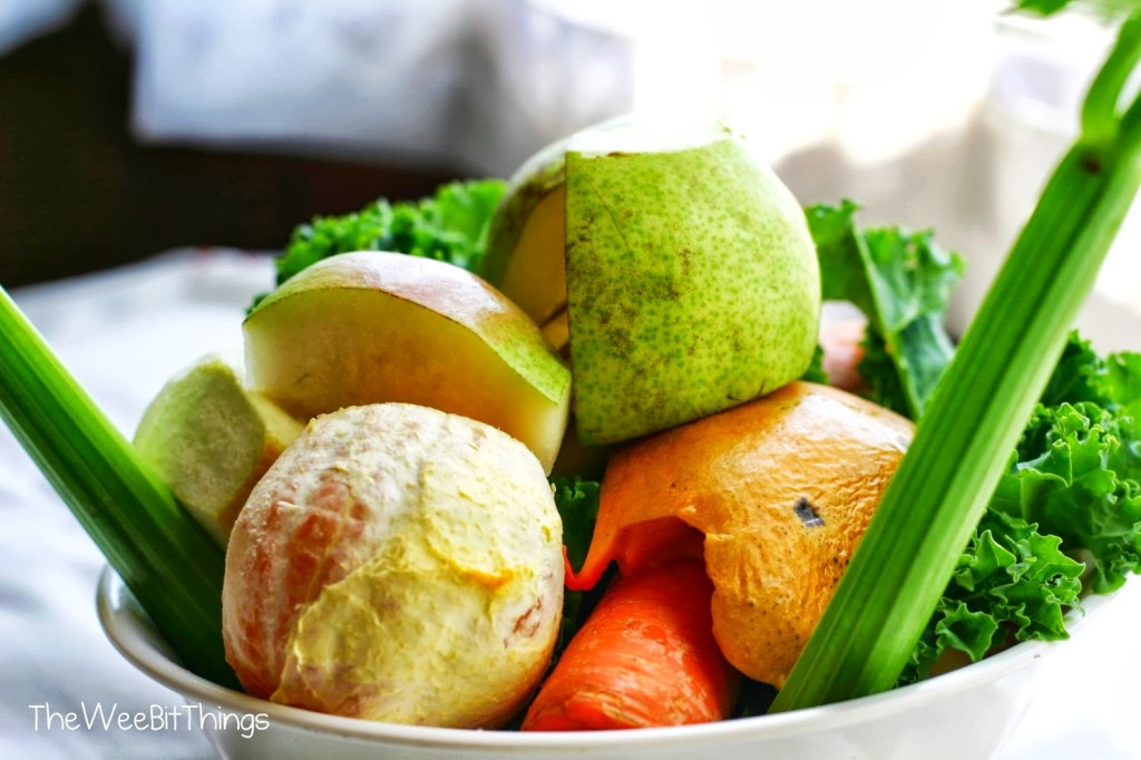 Image of Fresh Fruit and Vegetable Bowl