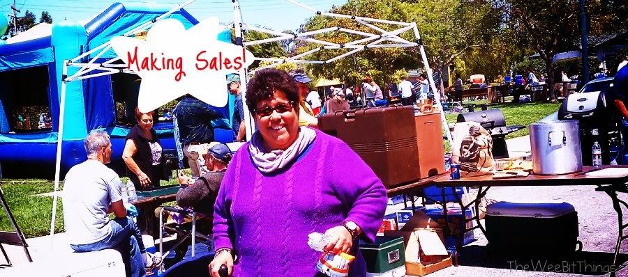 Brisbane Garage Sale Selling