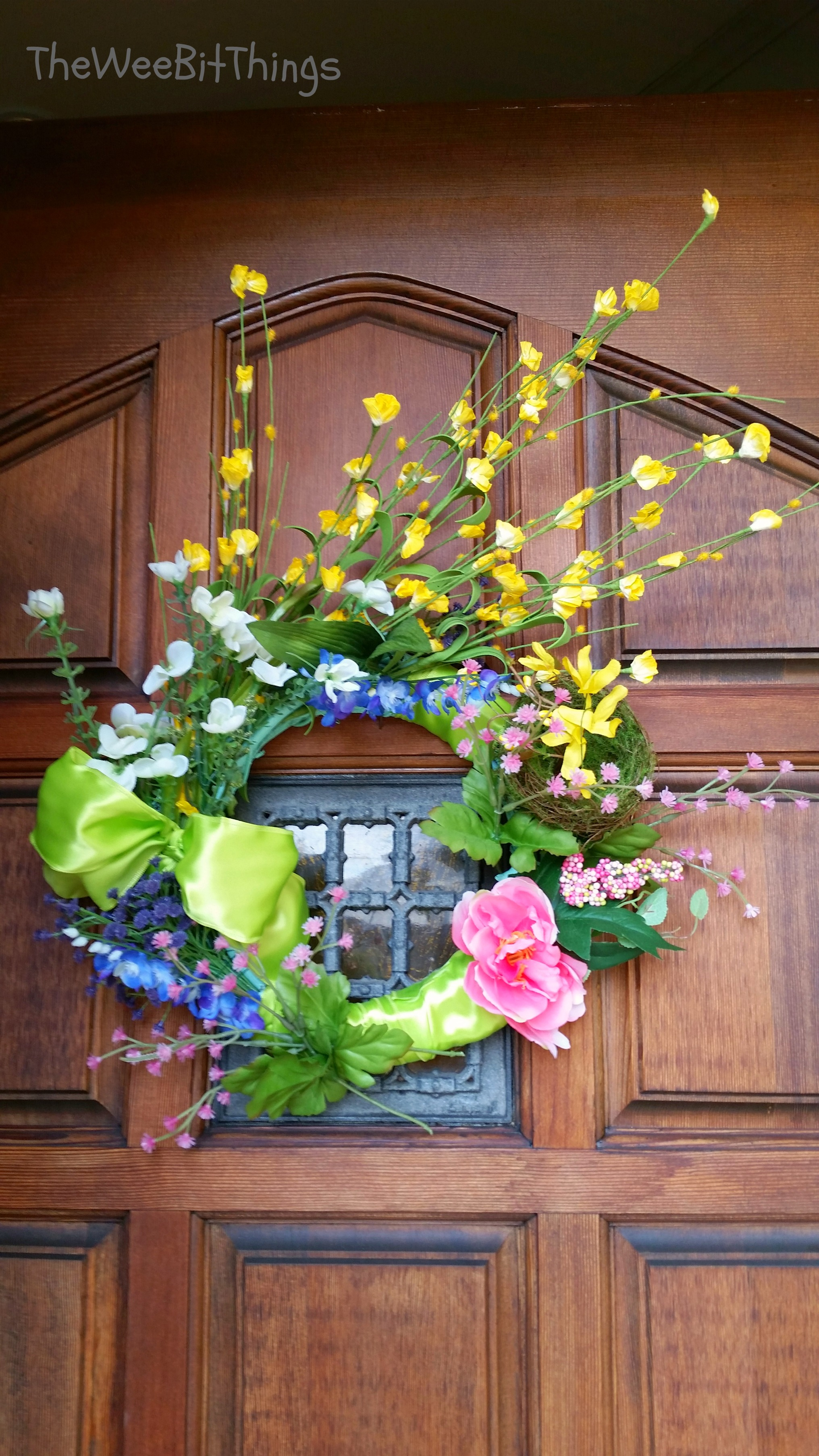 Home Project Spring Wreath