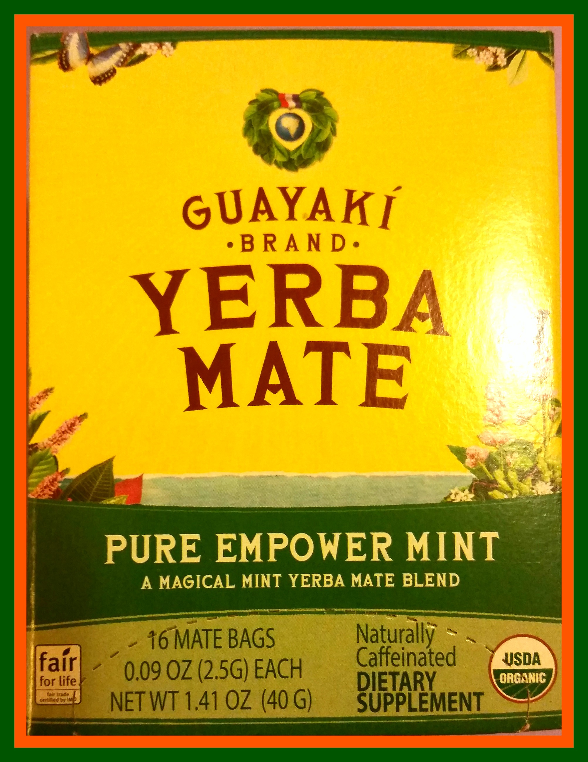 Image of Guayaki Yerba Mate Tea Box